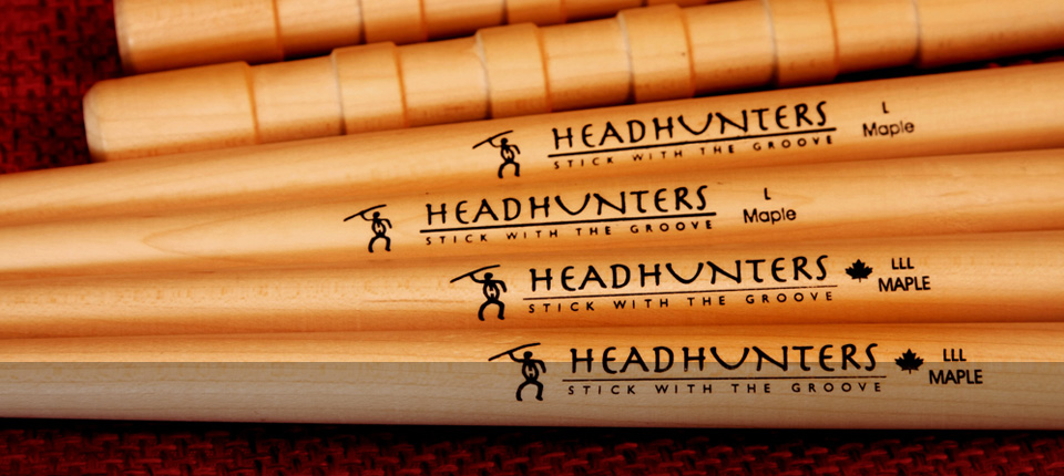 Headhunters Drumsticks and Creations